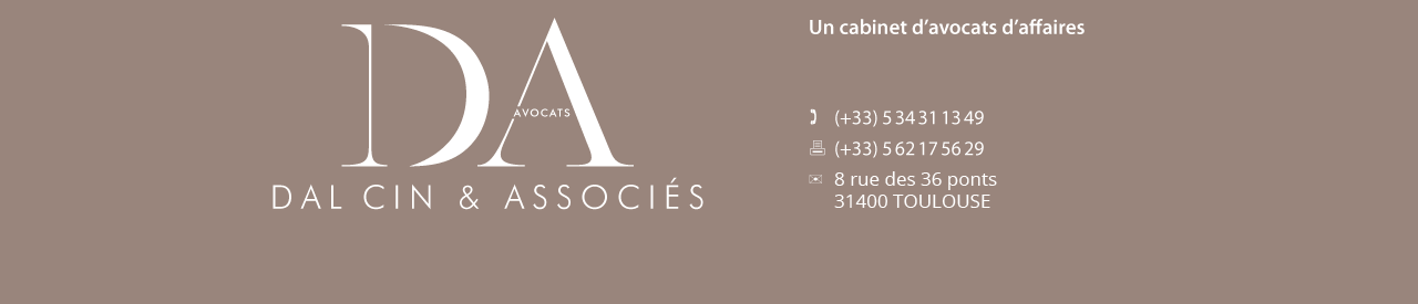 Société d'avocats DAL CIN & ASSOCIES